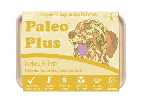 Paleo Ridge - Paleo Plus Paleo Plus Turkey and Fish (500g)