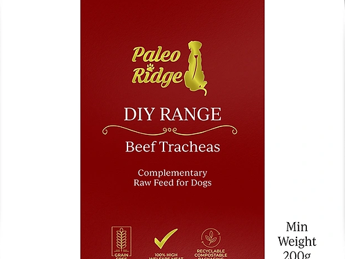 Paleo Ridge DIY Beef Tracheas (min. 200g)