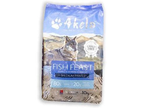 Akela Working Dog Fish Feast