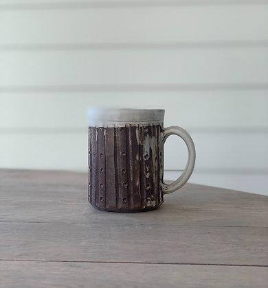 Whitewashed Mug