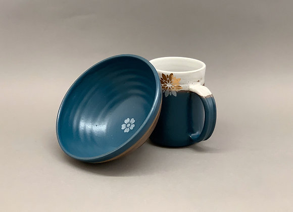 Extra-Big Mug and Bowl Set