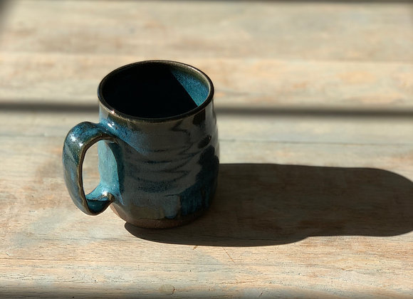 Hand Carved Mug