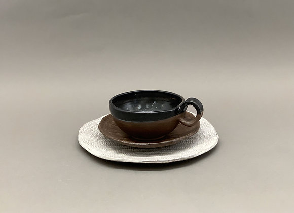Black and Brown Breakfast set