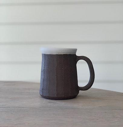 Four Finger Faceted Mug