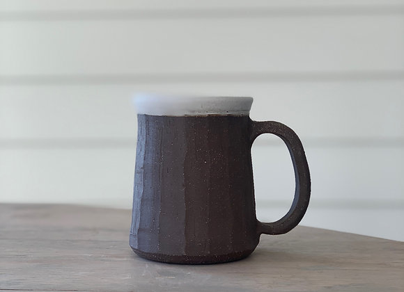 Four Finger Faceted Mug
