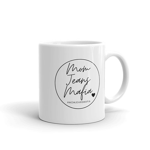 MJM Mug with black logo