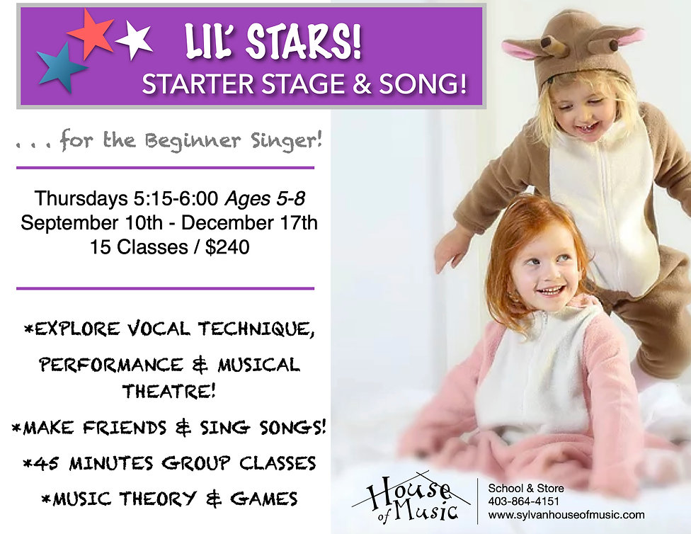 Lil' Stars! Starter Stage & Song Fall_20