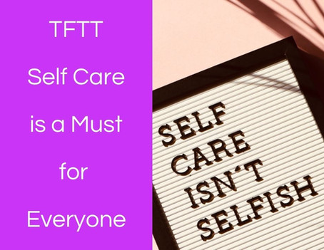 Thoughts from this Therapist: Self Care is a Must for Everyone