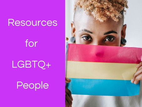 Resources for LGBTQ+ People