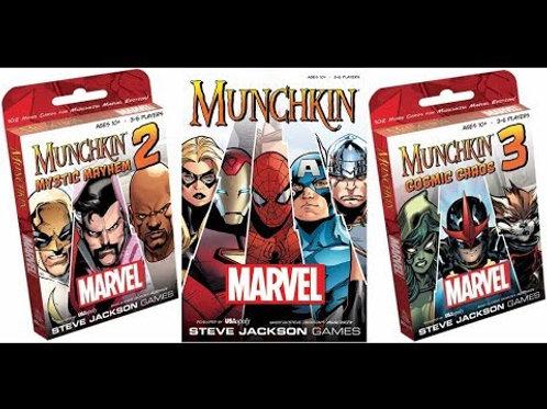 Marvel Munchkin Bundle