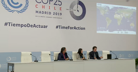 Collabathon Press Conference at COP25, Madrid
