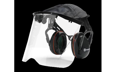 Husqvarna Premium Earmuff - Plexi Visor