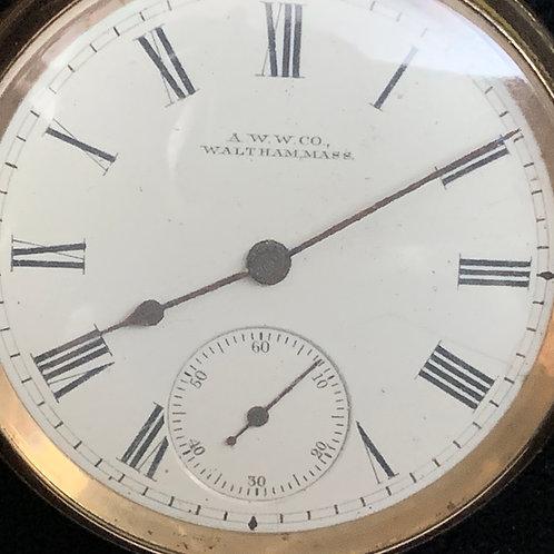 MEN'S Waltham Watch Company Pocket Watch circa 1902-03