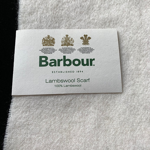 UNISEX Barbour Lambswool Scarf
