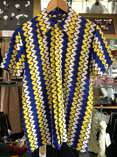VINTAGE Men's Short-sleeved Knitted shirt