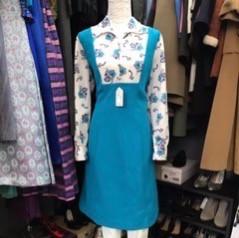 Cool Casual Pinafore Dress circa 70's