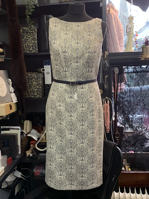 Monsoon Patterned Pinafore Dress