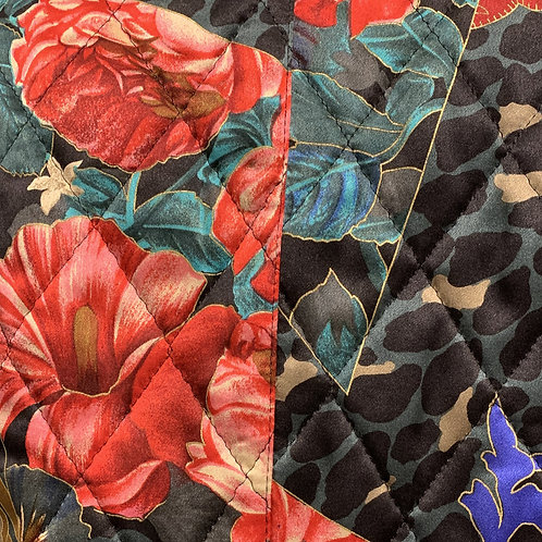 BASLER Silk Quilted Evening Jacket size 10 circa 80/90's