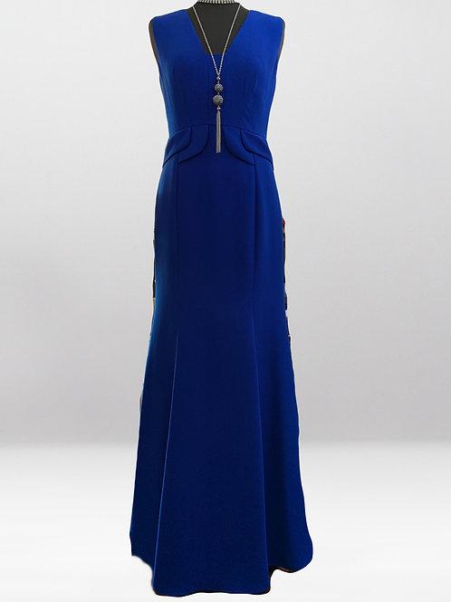 Cobalt Evening Gown