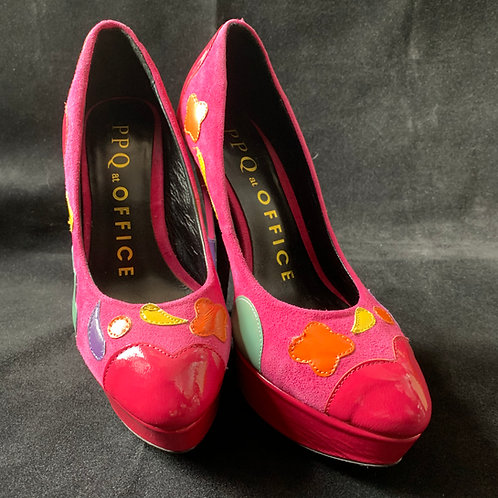 "PPQ for Office Pink ""Penelope"" Heels"