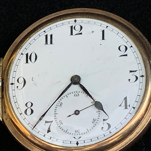 MEN'S Waltham Watch Company Pocket Watch circa 1870-71