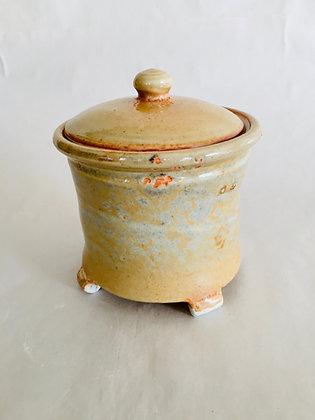 Porcelain Jar and Lid