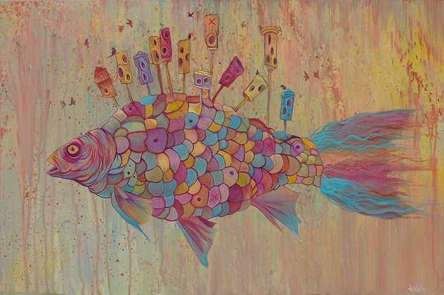 BIRDHOUSE FISH