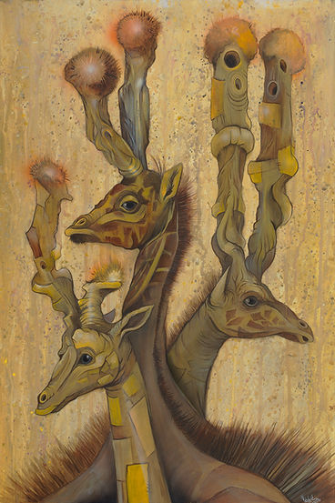 Girafters,Nature, Aninals, Illustrations