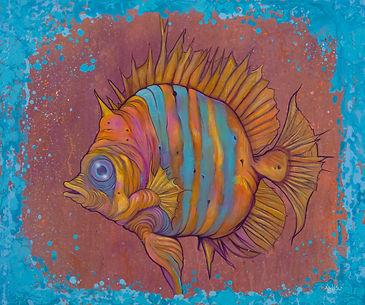 Marine biology, Turquosie, Art, Fish, Illustration,SummerSet