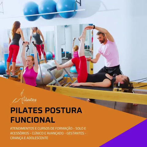 Curso e Atendimentos de Pilates Postura Funcional