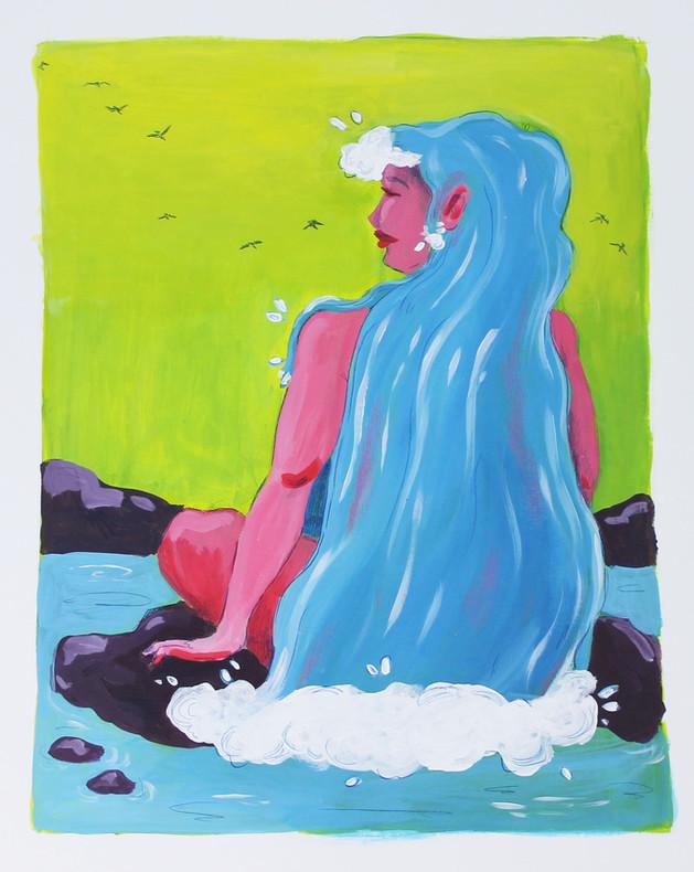 Waterfall Lady