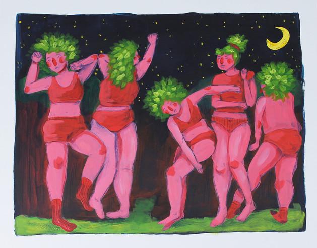 Dancing Tree Ladies