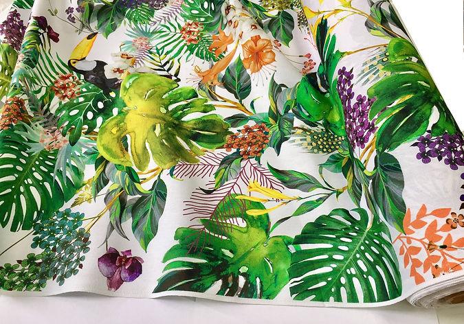 tropical-toucan-bird-fabric-curtain-upho