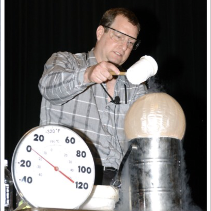 Science Night with Mr. Freeze
