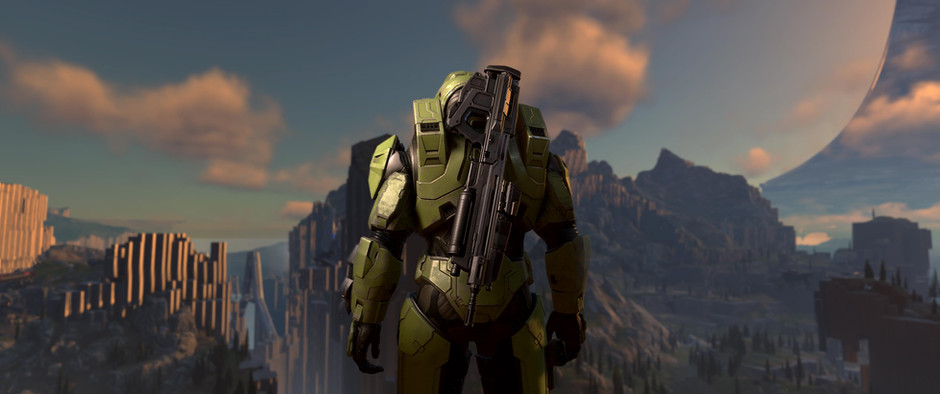 Microsoft dropped the Halo Infinite gameplay footage