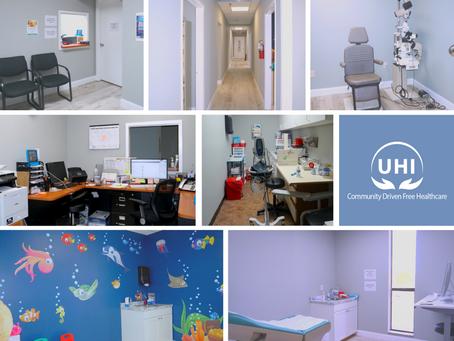 UHI's New Office