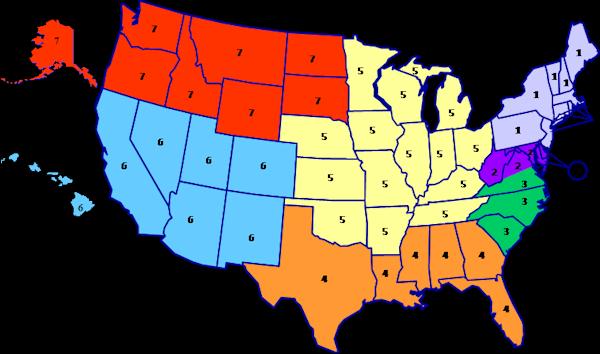 Seaport-E Contractor Area Map