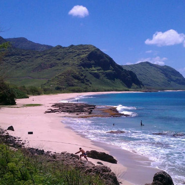 Kula'ila'i Beach, Wai'anae, Hawai'i