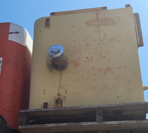 John Deere 450CLC Fuel Tank