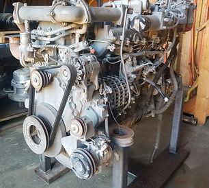 450DLC engine