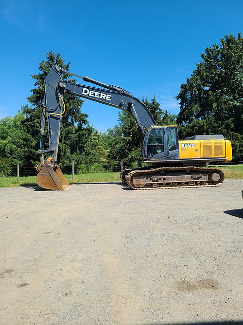 JD350DLC For Parts Flemings Equipment