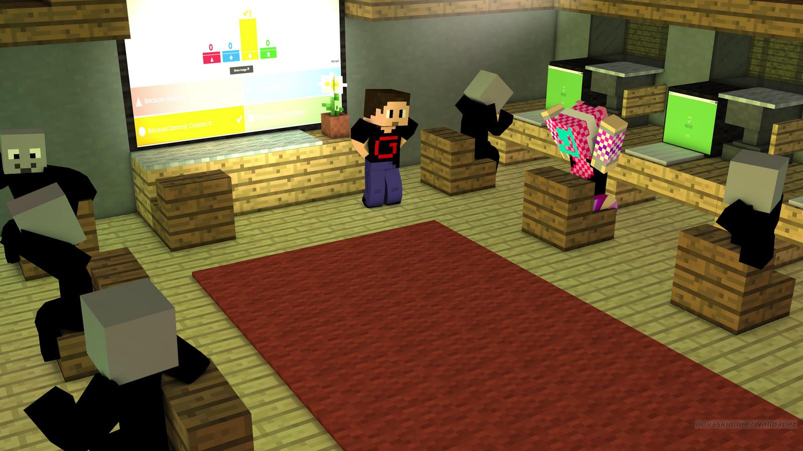 Novaskin Minecraft Wallpaper 16png