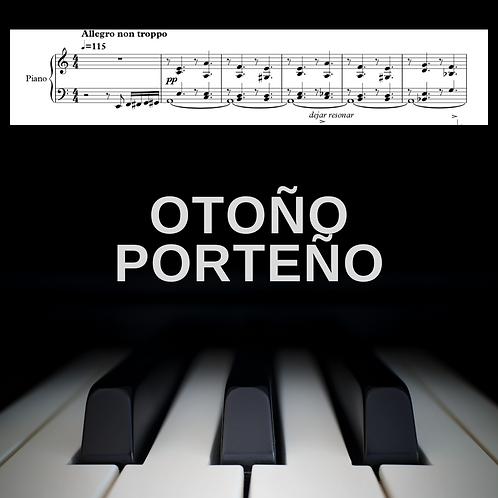 Otoño Porteño (piano solo)