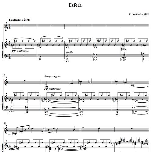 Esfera - piano & violin