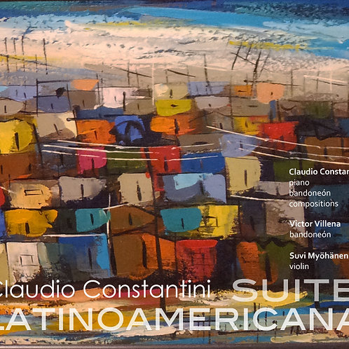 Suite Latinoamericana - CD album