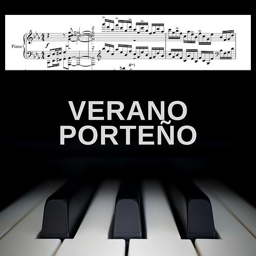 Verano Porteño (piano solo)