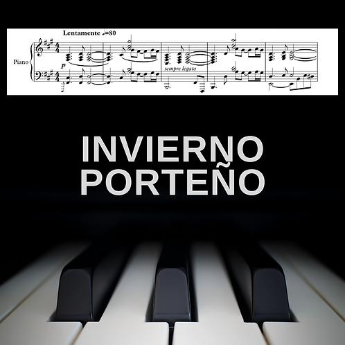 Invierno Porteño (piano solo)