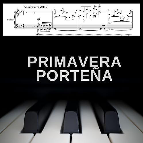 Primavera Porteña (piano solo)