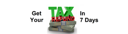 refund in 7 days or less