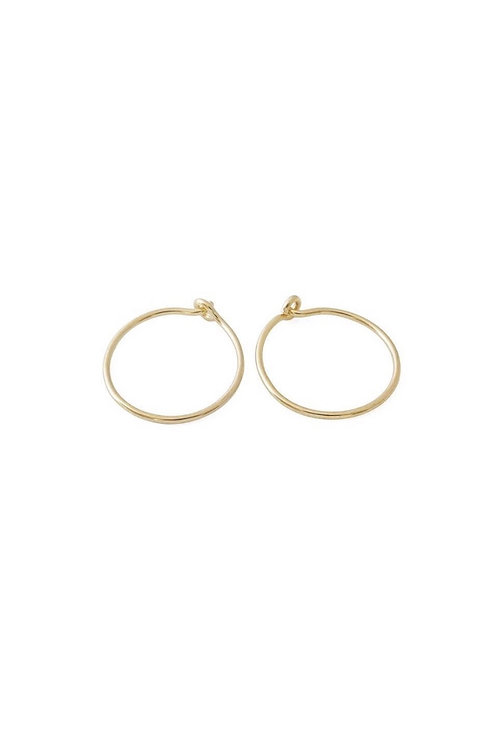 The Perfect Gold Hoop